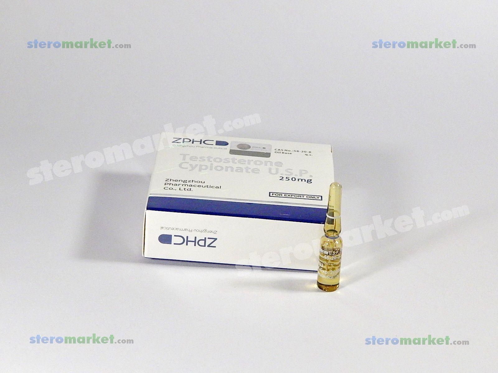 Zhengzhou Testosterone Cypionate 250mg 1ml amp Buy Online