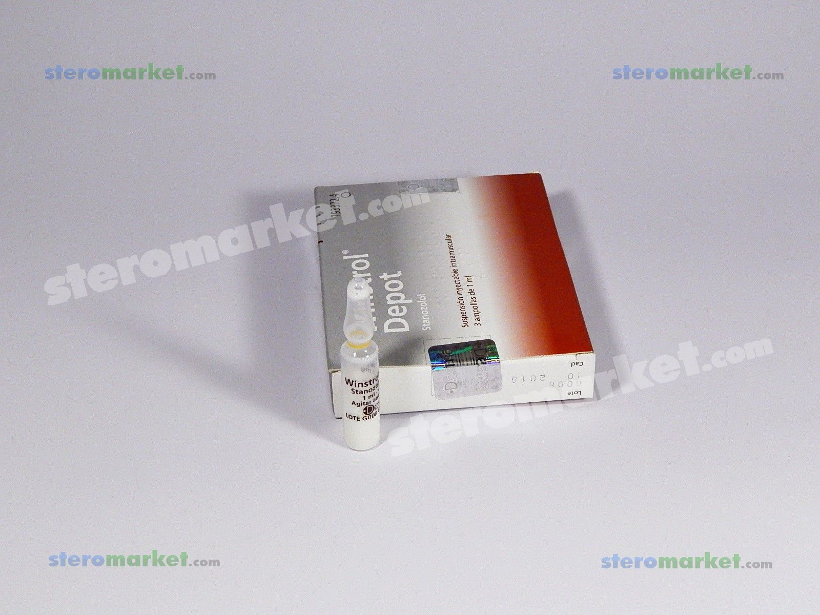 Desma Winstrol Depot 1ml amp Buy Online • USA • for SALE
