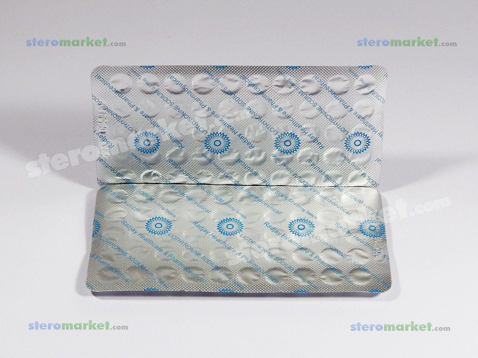 Radjay Liothyronine Sodium 100 tabs Buy Online • USA • for